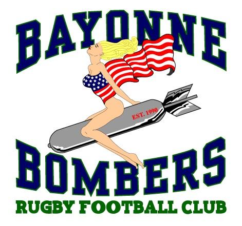 Bayonne Bombers Rugby Logo
